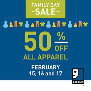 Goodwill - FamilyDaySale