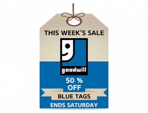Blue Tag Sale!