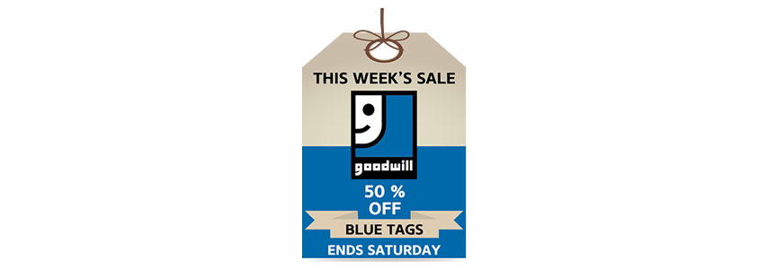 Blue Tag Great Sale offer | Goodwill Industries of Alberta