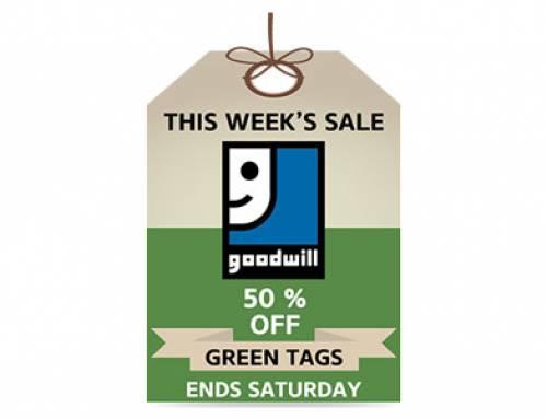Green Tag Sale!