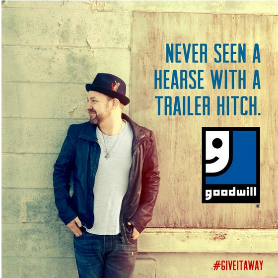 Singer Kristian Bush teams up with Goodwill International