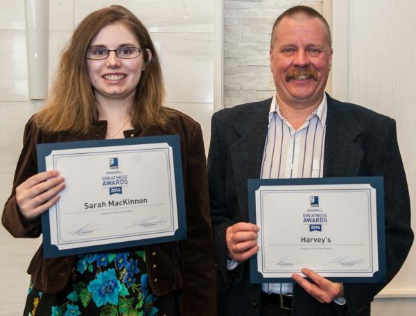 Sarah and Pat; Greatness Awards 2014 - web