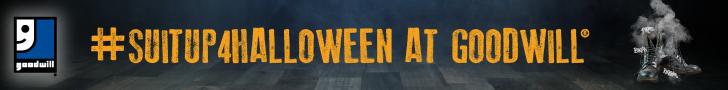 2016 Halloween Goodwill #SUITUP4HALLOWEEN