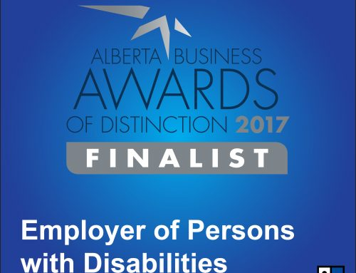 Goodwill Industries of Alberta, Finalist for the Alberta Business Awards  of Distinction