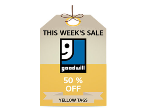 Yellow Tag Sale!