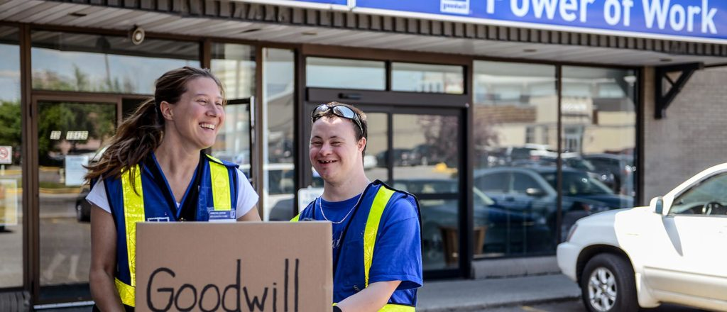 Goodwill Alberta - Make a difference with us