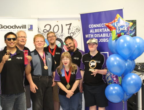 Send-off for Goodwill's Special Olympians heading to the Alberta Summer Games