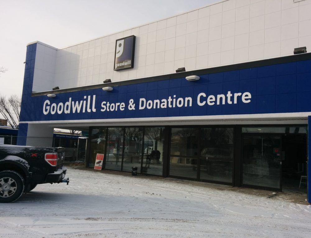 Goodwill on Whyte Opens November 25