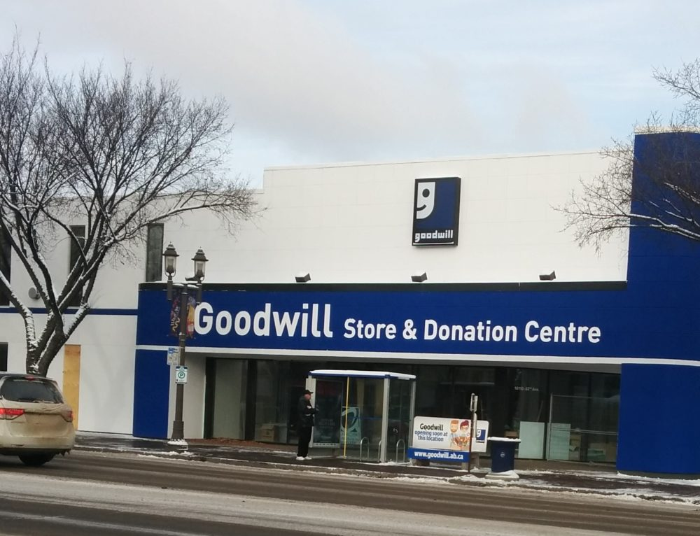 Press Release & Media Availability: Goodwill on Whyte – Goodwill Opens New Store & Donation Centre on Whyte Ave Saturday Nov 25