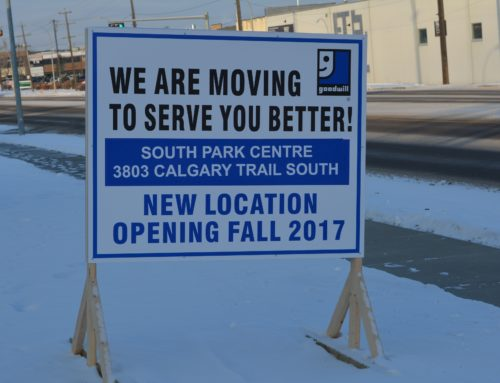 Goodwill Southside Store and Donation Centre Relocating to New and Largest Goodwill Store in Alberta at South Park on Dec 14