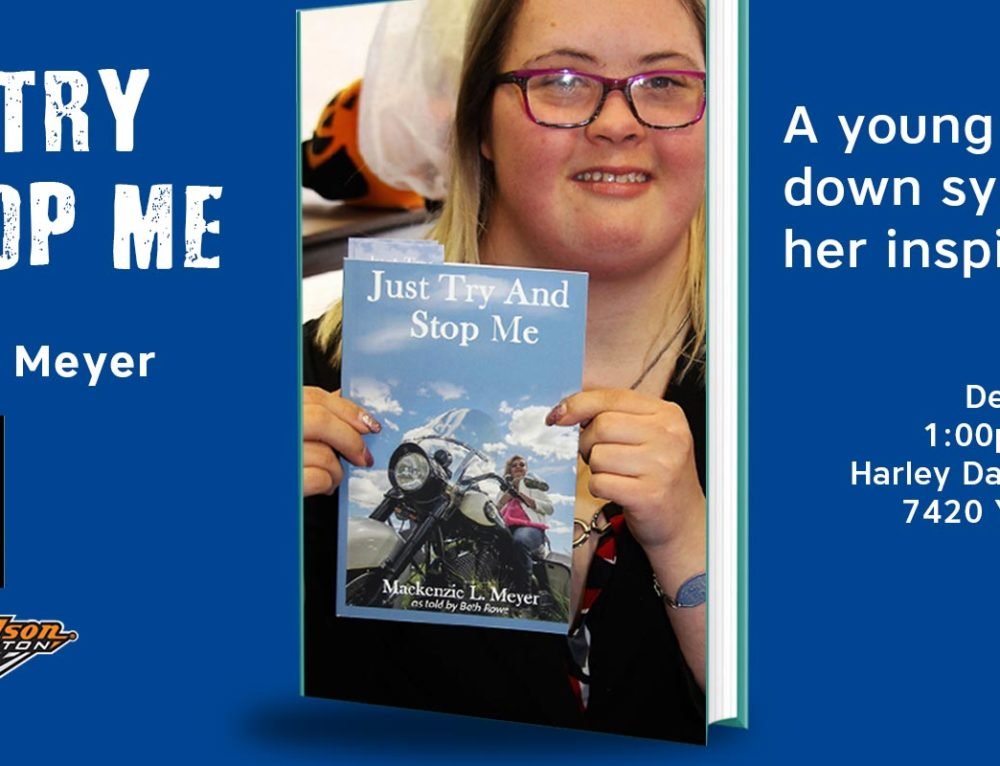 """""""Just Try and Stop Me"""" Book Signing at Harley Davidson Edmonton"""