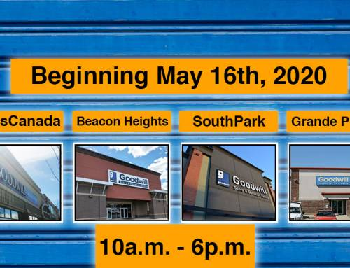 Goodwill re-launches with 4 stores